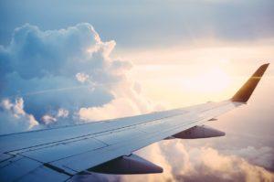 Training im Flugzeug