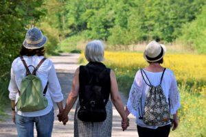 Menopause Gewichtszunahme und Abnahme